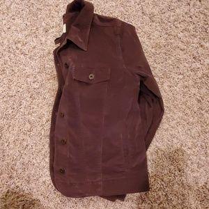 L.L. Bean Jackets & Coats - LL Bean Velour Jacket